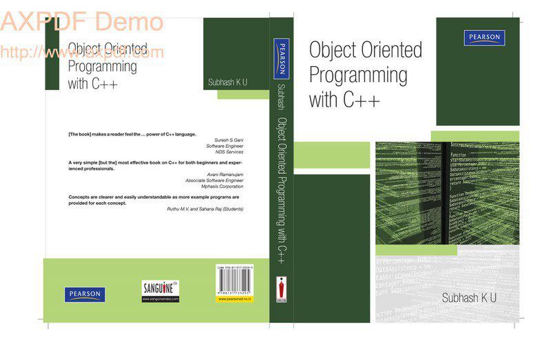 Object Oriented Concepts And Programing [BCA-3503]